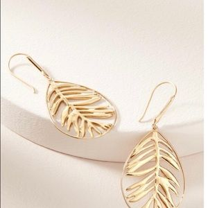 BNWT Stella & Dot Botanical Filigree Earrings